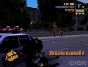 GTA III Busted