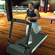 SA Fitnesscenter Laufband