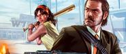 GTA Online Artwork Achtung beim Umdrehen