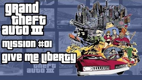 GTA 3 HD - Walkthrough - Mission 01 - Give me Liberty - Deutsch German English