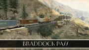 Braddock-Pass-Ansichtskarte