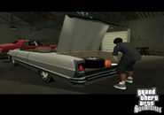 Screen-sa garage