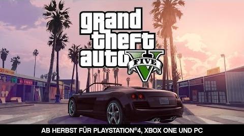 Grand Theft Auto V -- Ab Herbst für PlayStation®4, Xbox One und PC