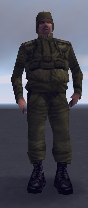 Soldat, III