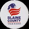 Blaine-County-Talk-Radio-Ansteckplakette
