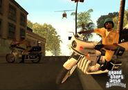 Screen-sa police bikes