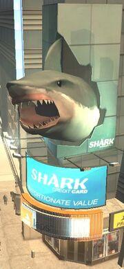SharkCard-GTAIV-Werbefassade