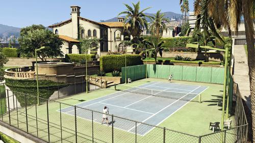 GTA-V-Handbuch Tennis