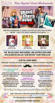 """""""Kein Hipster""""-Event-Wochenende"""