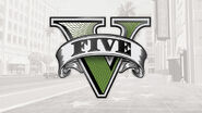GTA V logo artwork