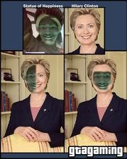 Hillary Clintons wundersame Wandlung zur Freudenstatue