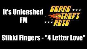 "GTA 1 (GTA I) - It's Unleashed FM Stikki Fingers - ""4 Letter Love"""