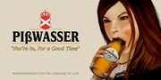 Pisswasser Bottlesuck Werbung IV