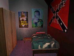 Phils Wohnwagen Schlafzimmer