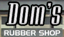 Dom's-Rubber-Shop-Logo