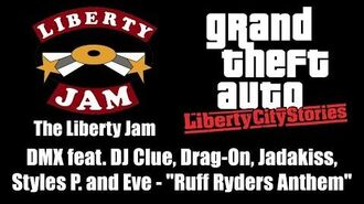 """GTA Liberty City Stories - The Liberty Jam DMX feat. DJ Clue and others - """"Ruff Ryders Anthem"""""""