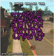 Temple Drive Ballas-Tag, SA
