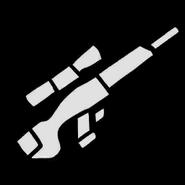 Scharfschützengewehr-Icon, SA