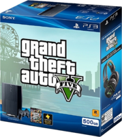 GTA V PS3 Superslim Bundle E3