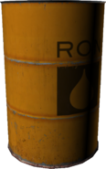 RON-Ölfass