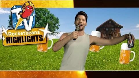 "Simon's Bier Song ""Ich trink Bier - Du trinkst Bier"" Rocket Beans TV Highlights Bohn Jour-0"
