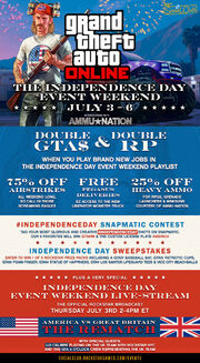 The Independence Day Event Weekend Plakat