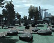 Minigolfplatz Firefly Island (IV)