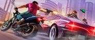 GTA Online Artwork Drive-bys