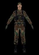 Soldat, SA