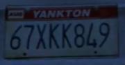North Yankton Kennzeichen
