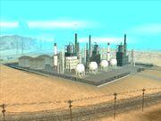 Ölraffinerie, Green Palms, SA