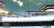Außenlooping unter der Brücke