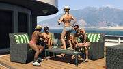 Tracey auf dem Boot, Papis kleines Mädchen, GTA 5
