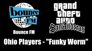 "GTA San Andreas - Bounce FM Ohio Players - ""Funky Worm"""