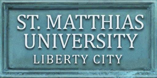 St.-Matthias-University-Schild, III