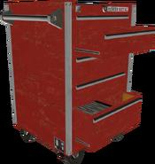 Mobiler Power-Metal-Werkzeugschrank