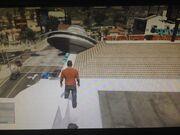 UFO in Vinewood.