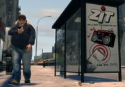 Bus shelter IV