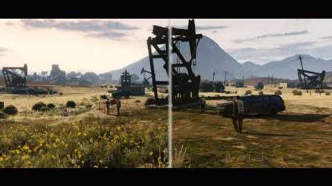Grand Theft Auto V Grafikvergleich zwischen PS3 und PS4
