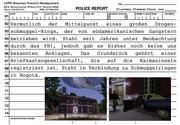 Polizeibericht Kartell-Villa