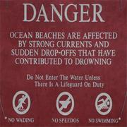 Badehosen-verboten-Schild