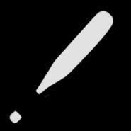 Baseballschläger-Icon, SA