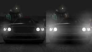 Vergleich Abblendlicht-Fernlicht GTA IV