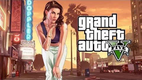 """Grand Theft Auto V """"Ein Vorgarten mit Zaun und ein Hund namens Skip"""""""