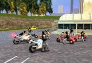 Überdosis Trouble, Biker-Gang, LCS