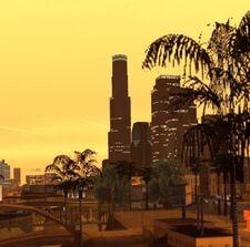 SA Los Santos Skyline