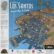 Los Santos Touristen Karte