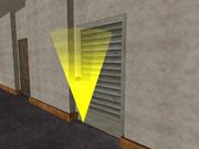 Kleiderschrank-Tür, Haus der Johnsons, SA