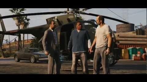 Grand Theft Auto V (GTA 5) Offizieller Trailer 2 auf deutsch (deutsche Synchro)