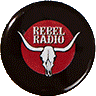 Rebel-Radio-Ansteckplakette